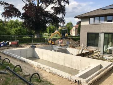 Project kelder/zwembad