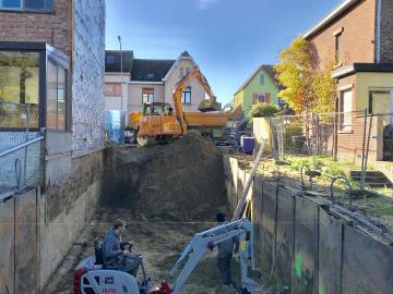 Kelder uitgraven